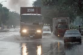 Lluvias en Santo Domingo