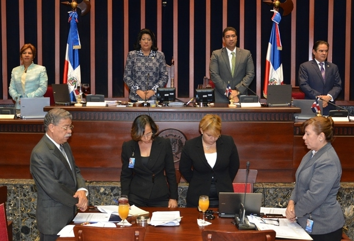 Sesión del Senado.