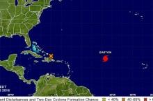 Huracán Gaston.