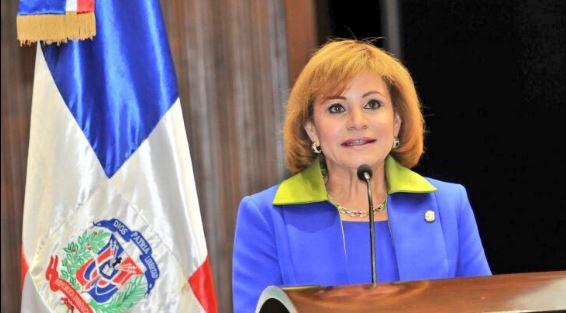 Lucía Medina, presidenta de Cámara de Diputados.