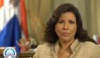 Margarita Cedeño de Fernández, vicepresidenta de la República.