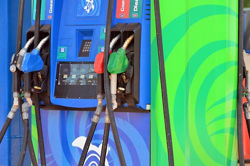 Ministerio Público cierra estacion de gasolina ECO
