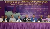 Dirigentes peledeístas anunciaron recorrido de Leonel Fernández.