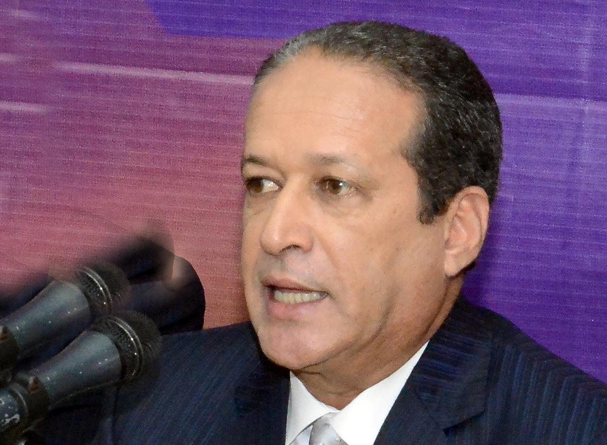 Reinaldo Pared Pérez, secretario general del PLD.