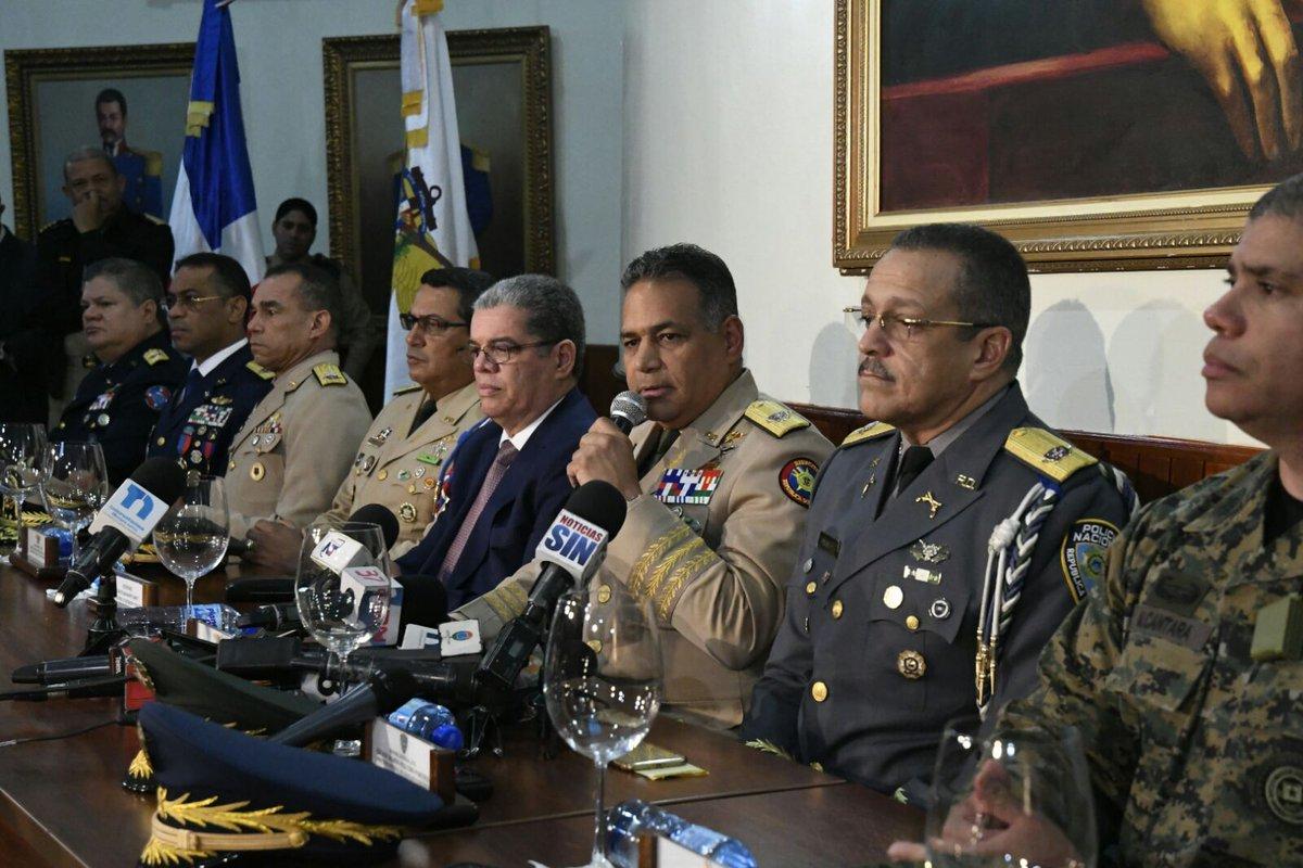 Autoridades anuncian medidas contra la delincuencia.