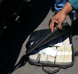 Dinero robado en ARS Constitución.
