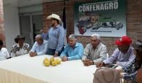 Eduardo Estrella se reunió con dirigentes agropecuarios.