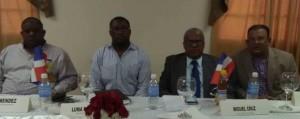 Alcaldes de Haití y de República Dominicana.