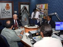 Antonio Isa Conde entrevistado en el programa Cuentas Claras.