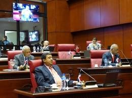 Arístides Yeb Victoria habla en sesión del Senado.