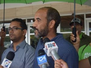 Dirigentes del Movimiento Marcha Verde.