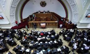 El Parlamento de Venezuela en una de sus sesiones.