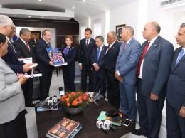 Miembros de la Cámara de Cuentas entregan informe sobre Presupuesto de 2017.