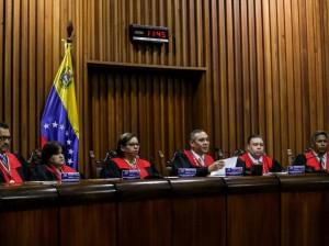 Miembros del Tribunal Supremo de Justicia de Venezuela.