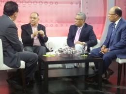 Miguel Ángel Núñez, Rafael Pepe Abreu, Darío Medrano y Guillermo Tejeda.