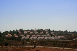 Asentamiento israelí de Halamish, en Cisjordania.