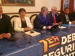 Dirigentes de Fenacerd anuncia debate sobre Seguridad Alimentaria.