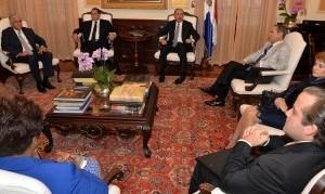 El presidente Danilo Medina encabeza reunión del Consejo de la Magistratura.