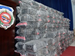 Droga incautada en operativo en El Seibo.