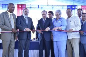 Inauguración del hospital San Fernando de Montecristi.