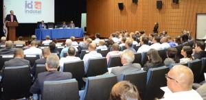José del Castillo Saviñón habla en presentación de un estudio realizado por Indotel.