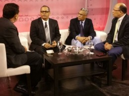 Miguel Ángel Núñez, Fidel Lorenzo Merán, Darío Medrano y Guillermo Tejeda.