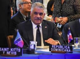Miguel Vargas en la reunión de cancilleres de la OEA sobre crisis de Venezuela.
