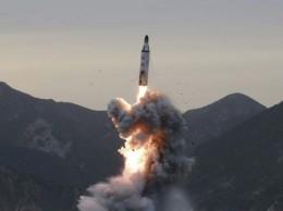 Nuevo misil lanzado por Corea del Norte.