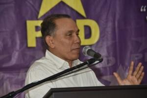 Radhamés Jiménez, dirigente del PLD.