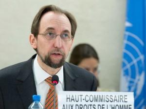 Zeid Ra´ad Al Hussein, lto Comisionado de los Derechos Humanos de la ONU.