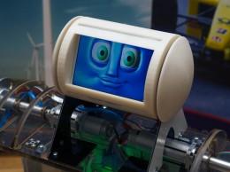 El robot Robbie es un prototipo diseñado por investigadores y estudiantes de ingeniería del Trinity College de Dublín, en Irlanda.