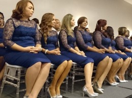 Especialistas graduadas por la Maternidad de La Altagracia.