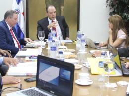 José del Castillo y demás funcionarios de Indotel.