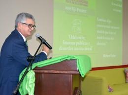 José Rijo durante la presentación de informe sobre Odebrecht en RD.