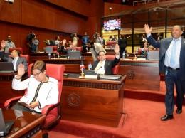 Senadores durante una sesión celebrada este miércoles.