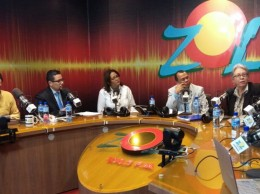 Altagracia Guzmán fue entrevistada en el programa El Zol de la Mañana.
