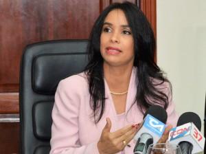 Claudia Franchesca de los Santos, directora ejecutiva INTRANT.