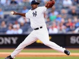Luis Severino, lanzador de los Yankees.
