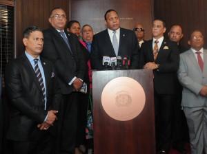 Miembros de la Comisión de Medio Ambiente de Cámara de Diputados.
