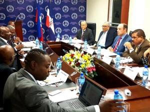 Reunión de autoridades de Indotel y de Haití sobre interferencias de emisoras haitianas.
