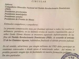 carta enviada a guido por julio maríñez