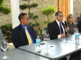 Mariano Germán habla en actividad sobre Inspectoría Judicial.