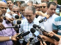 Reinaldo Pared Pérez encabezó un operativo médico.