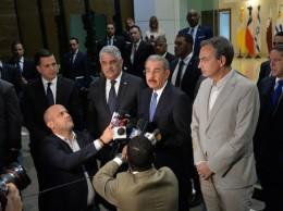 Danilo Medina habla sobre las negociaciones en torno a la crisis de Venezuela.