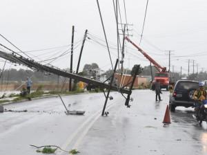 El huracán María afectó servicio eléctrico en la región Este.
