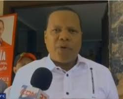 Eddy Alcántara, dirigente del PRSC.