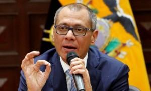 Jorge Glas, vicepresidente de Ecuador.