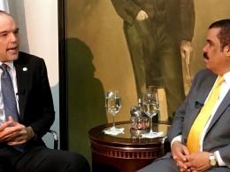 José del Castillo Saviñón entrevistado por Adriano Sánchez Roa.