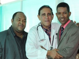 Roberto Flete, Cruz Jiminián y Clemente Terrero.