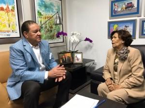 Alejandro Montás y Zoila Martínez.